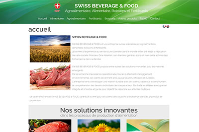 site agro alimentaire Suisse